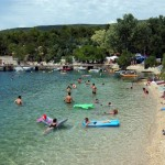 camp uvala slana beach