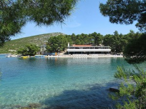 Camp Vira on island Hvar